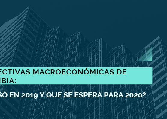 Análisis perspectivas Macroeconómicas  2020 Value and Risk