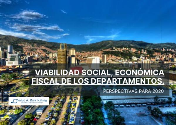 Value and Risk, análisis de la situación económica y fiscal de los departamentos, Bogotá D.C.